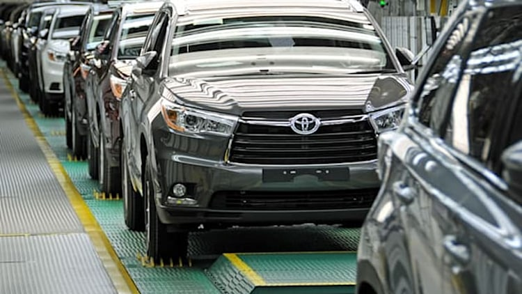 Toyota makes $100M investment to boost Indiana Highlander production