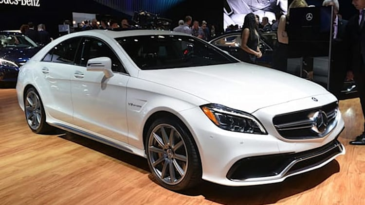 2015 Mercedes-Benz CLS63 AMG S 4Matic stands out in the LA crowd