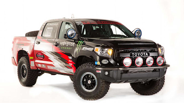 Toyota SEMA cars include Tundra for Baja and wacky DUB Edition Yaris
