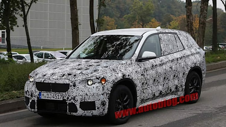 2016 BMW X1 will be second model on company's front-drive platform