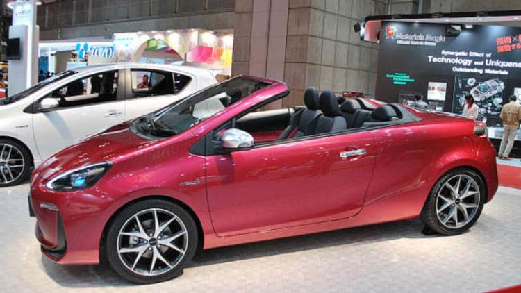 Toyota Prius C done up four ways as JDM Aqua concepts