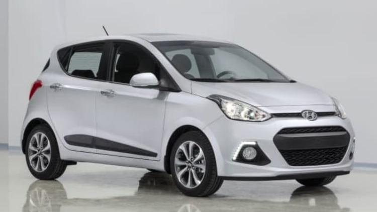 Hyundai unveils new i10