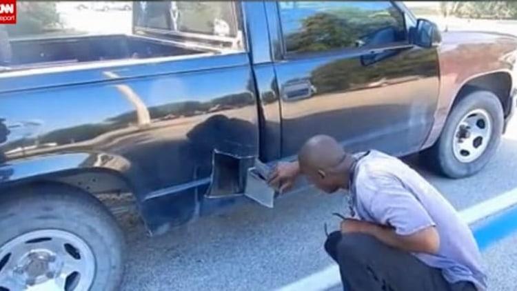 Florida man cuts open truck to save kitten [UPDATE]