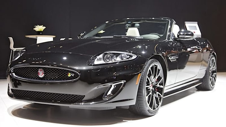 Jaguar sends off XK with limited-run Final 50 edition