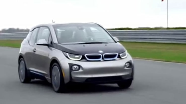 BMW i3 takes to the track, circles it in a way you don't expect