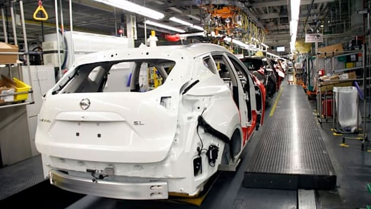Nissan Murano production fires up in America for first time [w/video]
