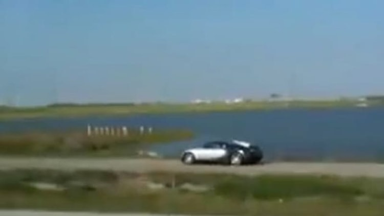Man who drove Bugatti Veyron into lake pleads guilty, faces 20 years in prison [w/video]