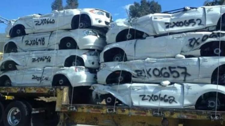 BMW crushing ActiveE EVs, saving all batteries