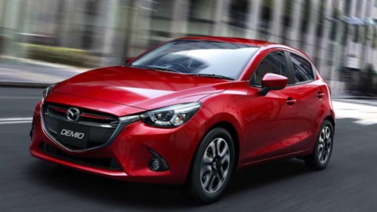 Mazda2 sedan debuting in Thailand this month?