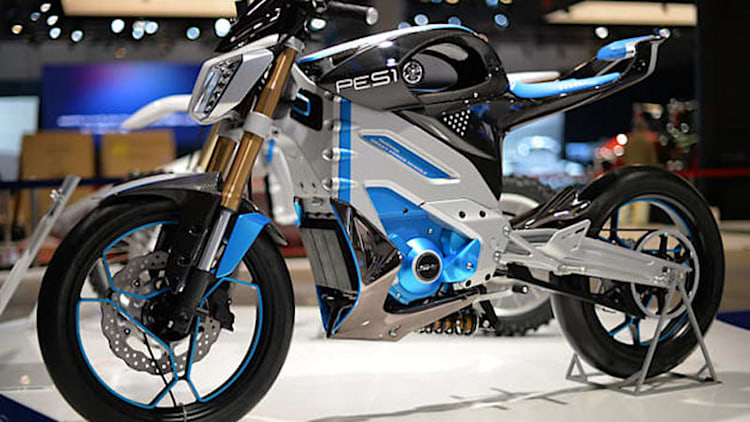 Yamaha PES1 and PED1 electric motorcycles headed for production