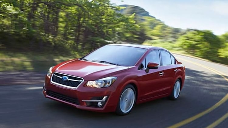 Refreshed 2015 Subaru Impreza priced from $18,195*
