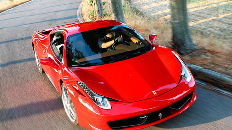 Ferrari recalls 458 Italia because its trunk is a dangerous place to stow kids
