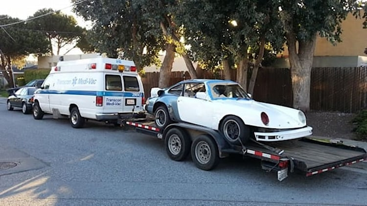 Porsche 911 with VW turbodiesel prepares for LeMons assault
