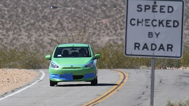Mitsubishi Mirage fuel economy challenge winner duct tapes his way to 74.1 MPG