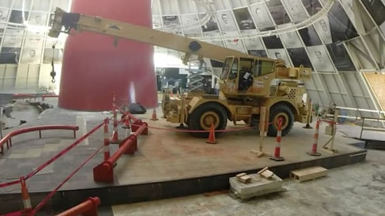 Watch the sinkhole work get underway at the National Corvette Museum [UPDATE]