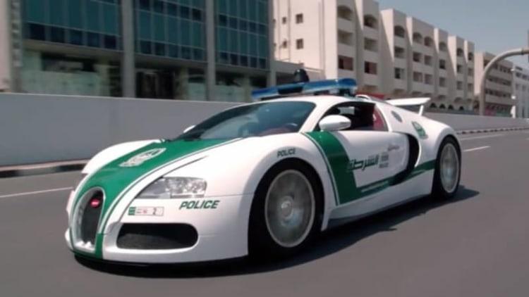 Enjoy a look at the World's Fastest Police Fleet in Dubai