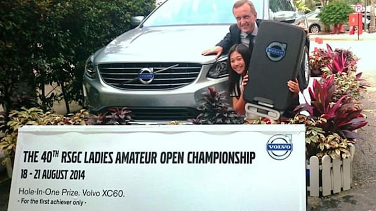 12-year-old golfer wins Volvo for hole-in-one [w/video]