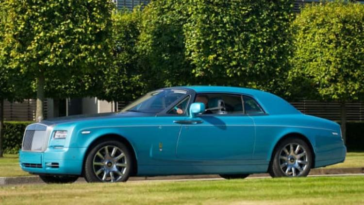 Rolls-Royce reveals Ghawwass edition Phantom Coupe