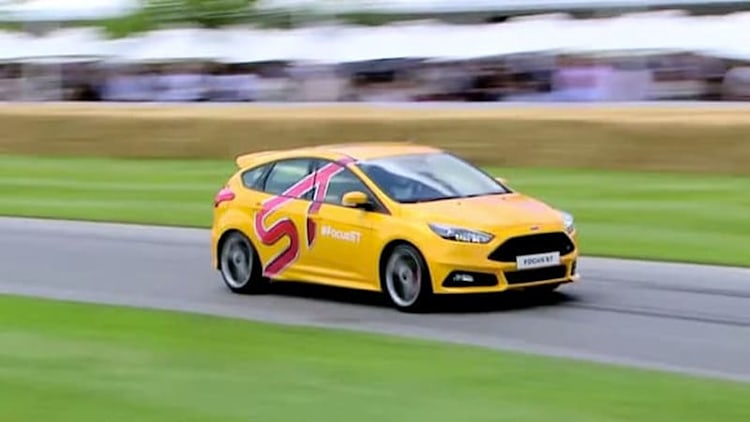 Ford pits The Stig against Gran Turismo 6 in Focus ST Goodwood run