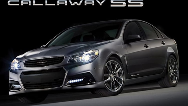Callaway announces 570-hp version of Chevy SS