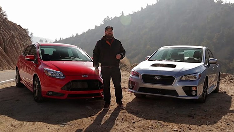 Motor Trend pits Subaru WRX vs. Ford Focus ST