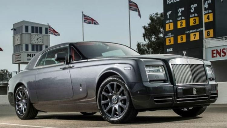 Rolls-Royce celebrates Goodwood with Chicane edition Phantom Coupe