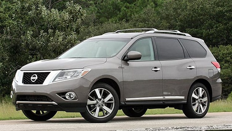 2013 Nissan Pathfinder: July-September 2013