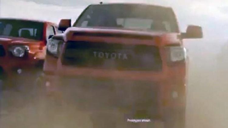Toyota TRD Pro lineup coming next week