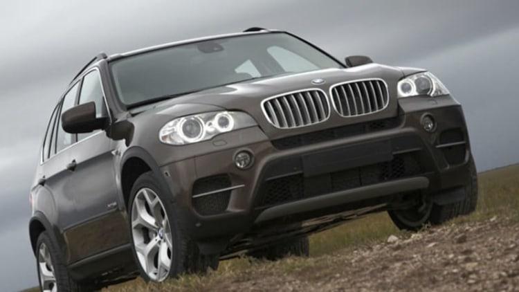 BMW recalls diesel X5 models over fuel filter heater