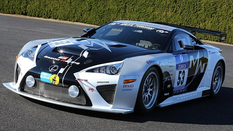 Gazoo heads to the Nürburgring with Lexus LFA Code X