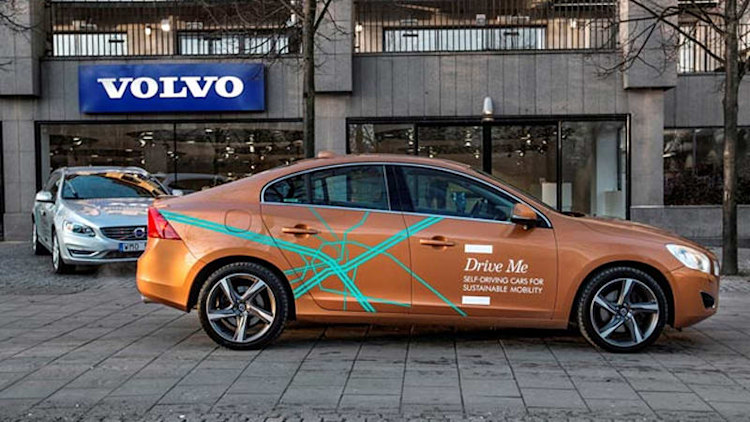 Volvo to test 100 self-driving cars on Swedish roads [w/video]