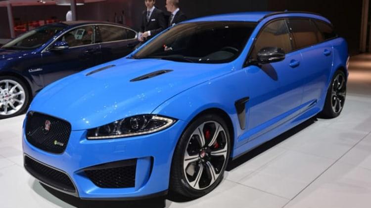 2014 Jaguar XFR-S Sportbrake is one hot hauler