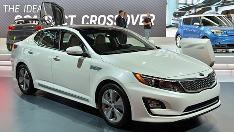 Refreshed Kia Optima Hybrid continues to blend good looks and efficiency