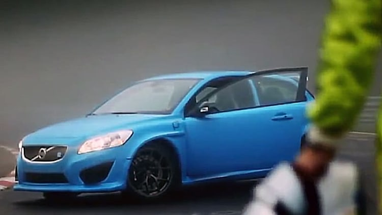 Volvo C30 Polestar Concept hits the 'Ring