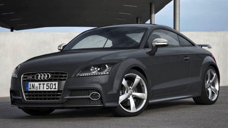 Audi sends off second-gen TT with a few enhancements
