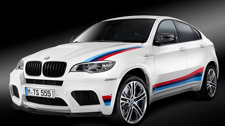 BMW stripes up X6 M Design Edition