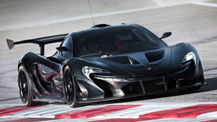 McLaren offers glimpse inside P1 GTR program [w/video]