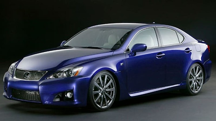 Final Lexus IS F rolls off assembly line in Japan, bound for US