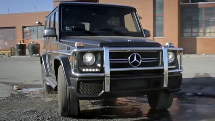 2014 Mercedes-Benz G63 AMG goes Unplugged in Detroit