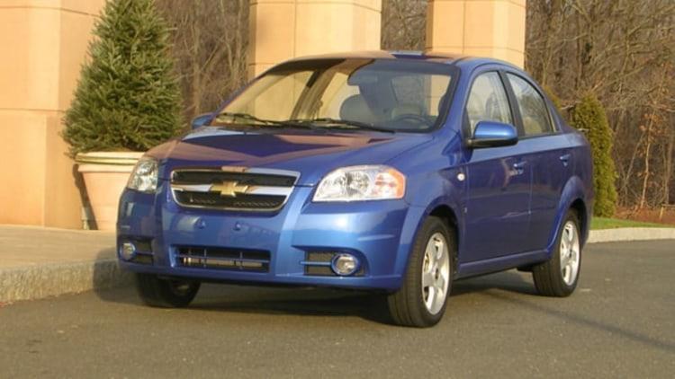 GM Recalls 218,000 Chevy Aveo Models Over Fire-Prone Lighting