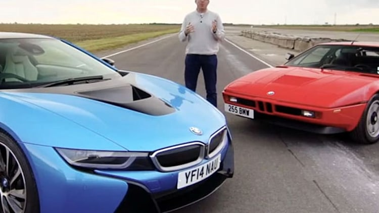 BMW i8 and M1 reunited in mid-engined Bavarian retrospective