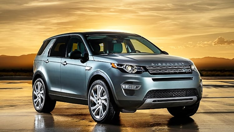 2015 Land Rover Discovery Sport targets lux CUVs with off-road chops, room for seven