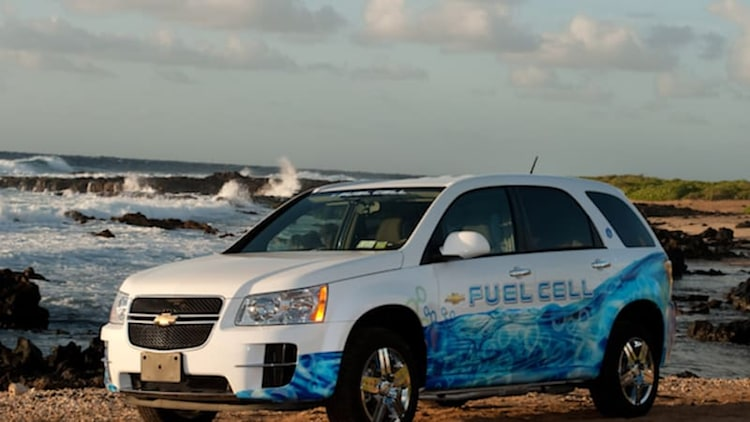 GM puts 3 million miles on hydrogen fuel cell test fleet