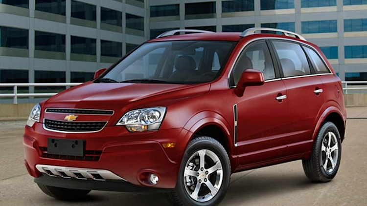 GM nixes fleet-only Chevy Captiva Sport