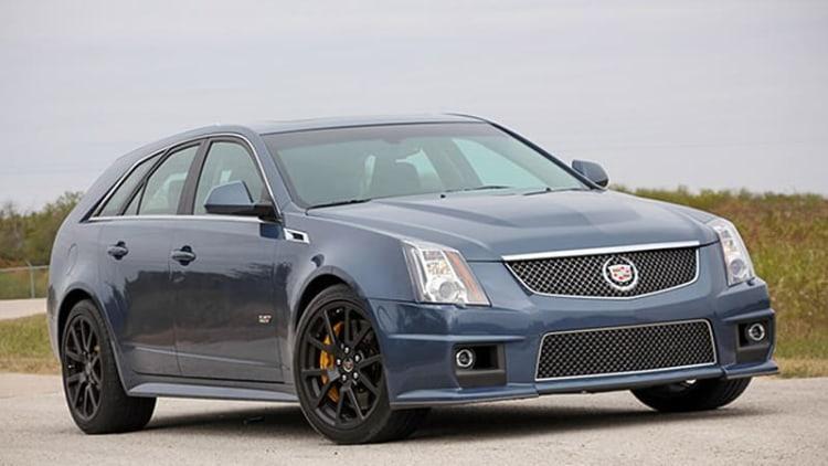 Such Sweet Sorrow: Cadillac's CTS-V gets an Irish wake