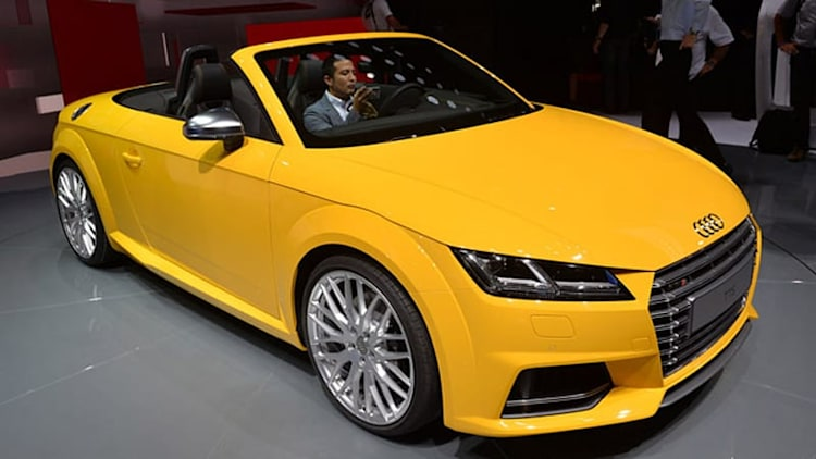 2015 Audi TTS Roadster opens up for all to see [w/video]