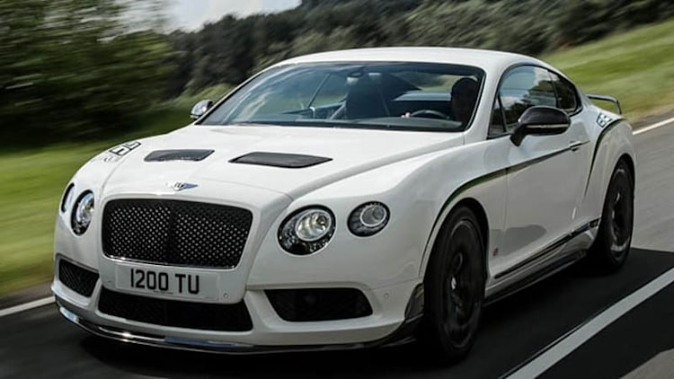 Bentley reserves 99 Continental GT3-Rs for North America at $337k apiece