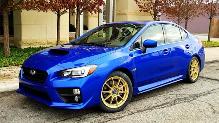 2015 Subaru WRX: Accident, wheels and tires