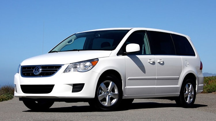 18k VW Routan minivans added to ignition switch recall list