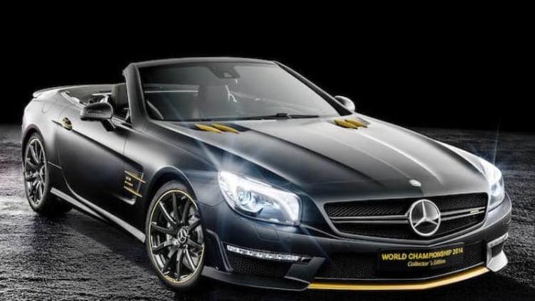 Mercedes celebrates with World Championship edition SL63